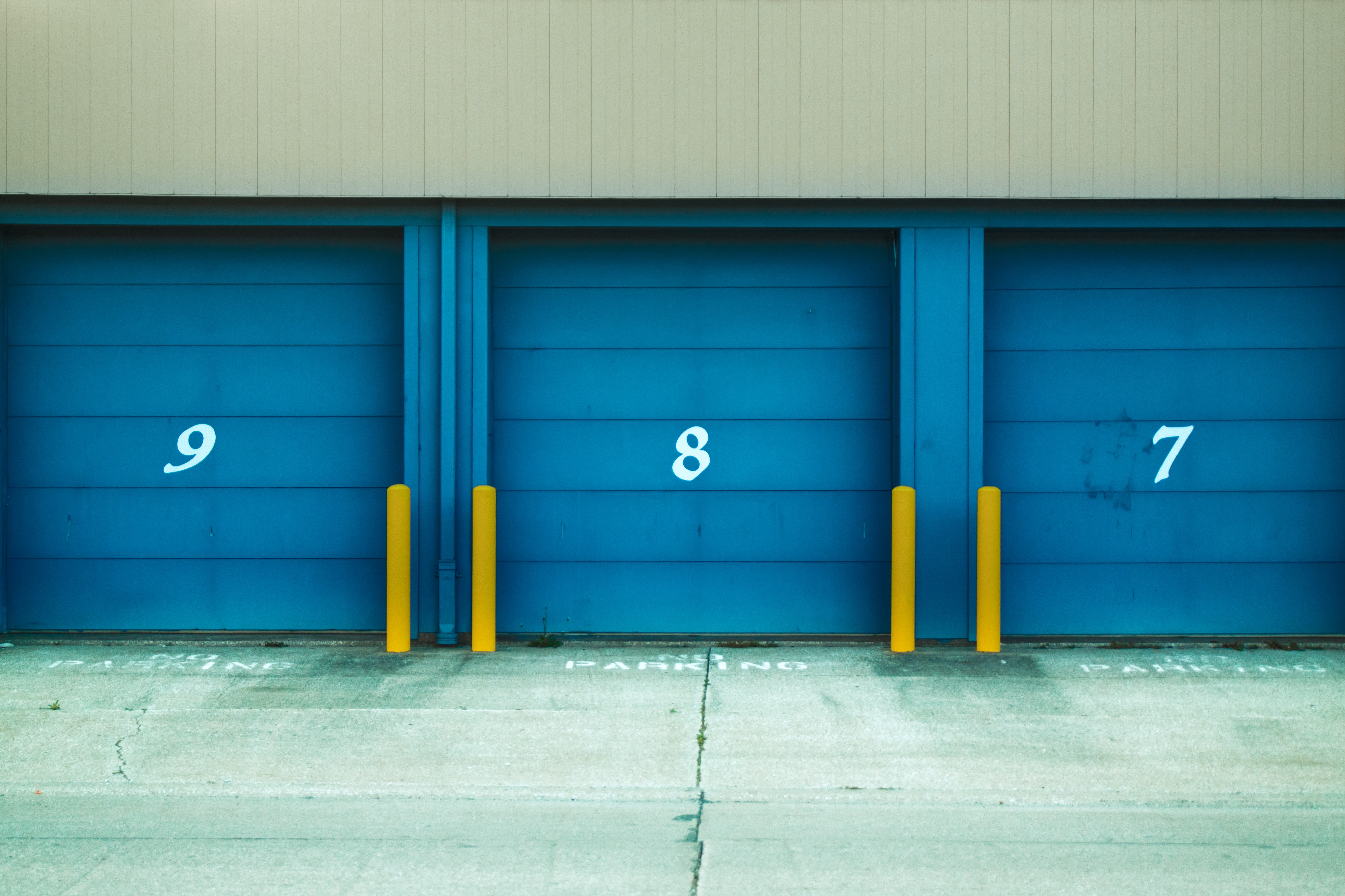 Restricted items in storage facilities