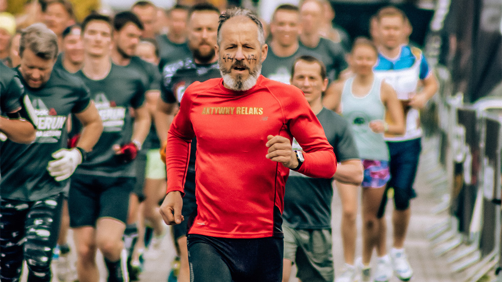 An older gentelman that chose running as one of his favourite age-friendly activities in Hamilton