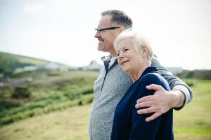 An older couple looking forward to all age-friendly activities in Hamilton