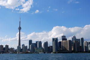 Landscape of Toronto, Ontario