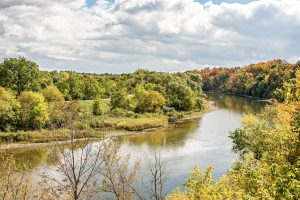 The Grand River, Waterloo Ontario.