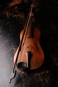 A violin needs to be stored in a climate controlled storage.