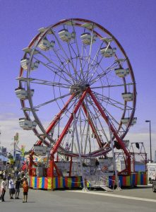 Big Wheel for kids! Carnival in Windsor!