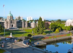 Victoria is one of the Warmest Canadian Cities in Winter!