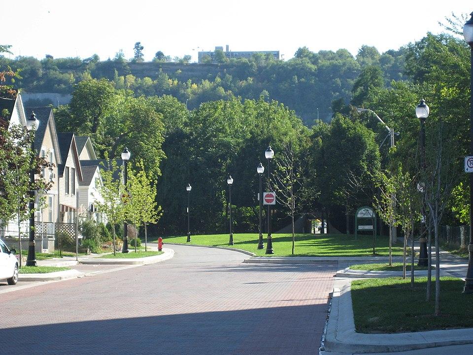 a cityscape of Hamilton, Ontario