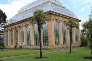 A botanical garden is one of the cool things to do in Hamilton