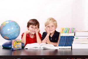 a school aged kids