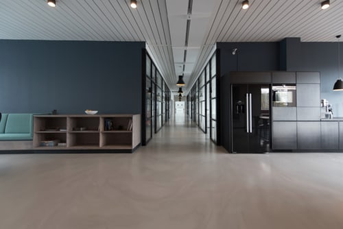 An office space that commercial movers Mississauga can help you move to.