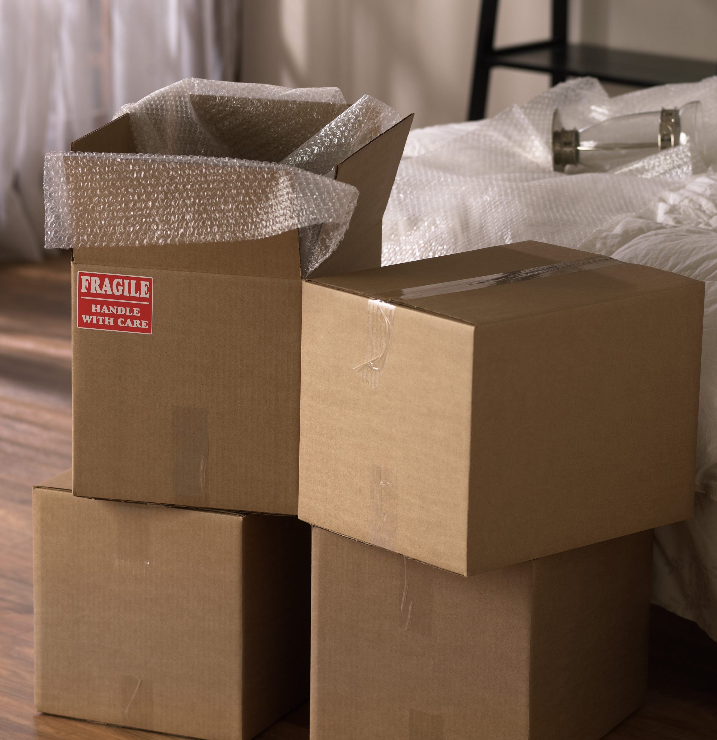 How to pack breakables for storage