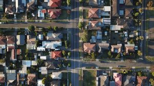 aerial view of housing solutions in Hamilton