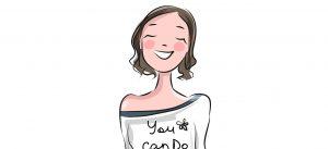 a positive girl