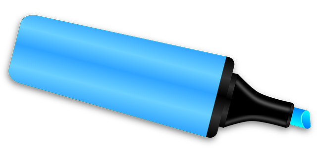 a marker