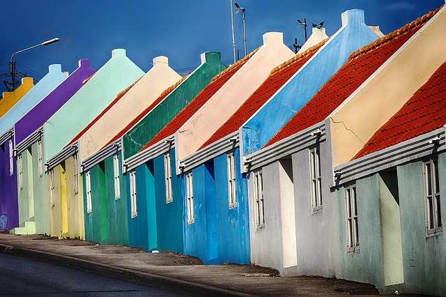 One of these colorful cottages could be yours if you opt for Living in Grimsby