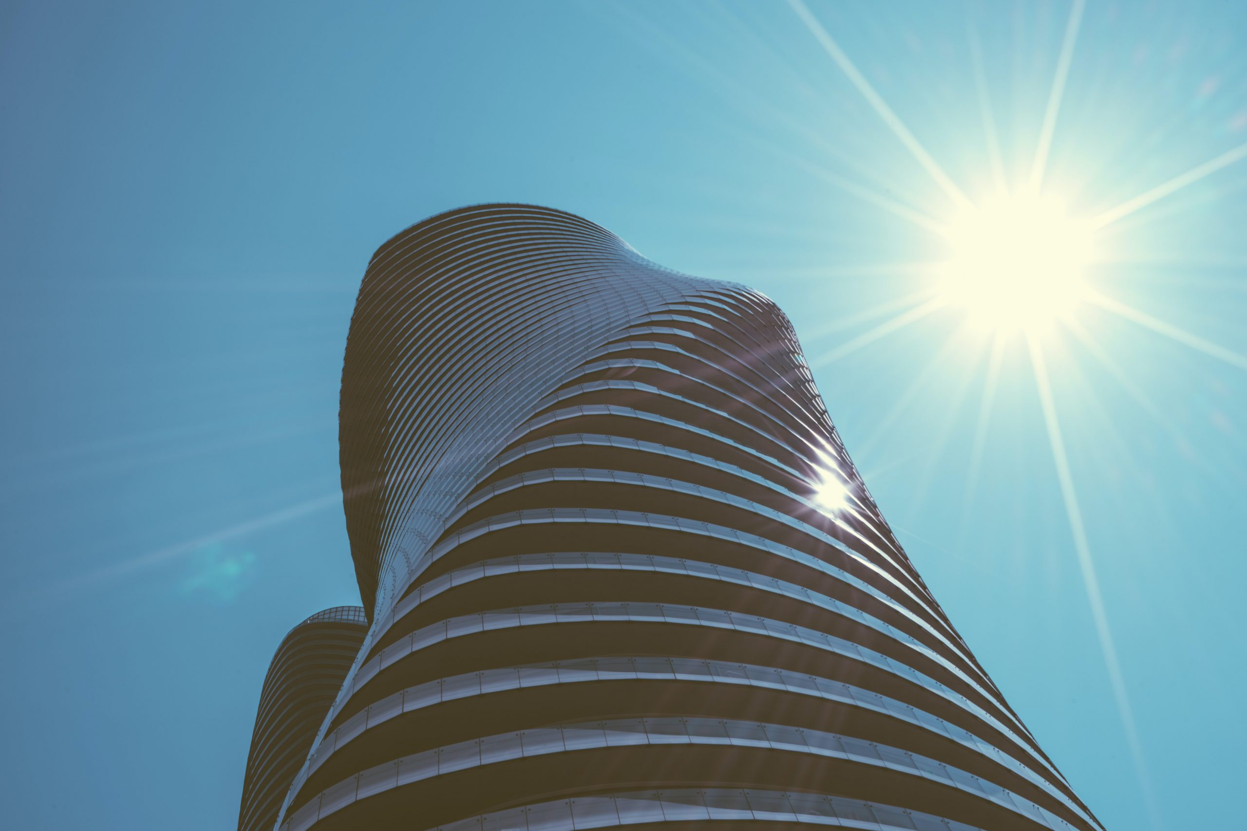 Absolute World towers in Mississauga