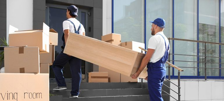 Movers Vaughan ON carrying furniture