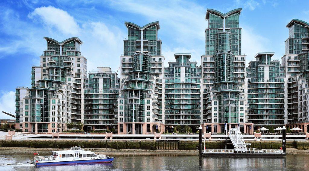 Large condo complex in Toronto.