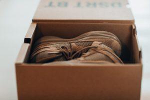 A shoebox