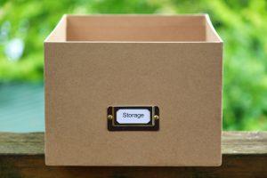A storage box
