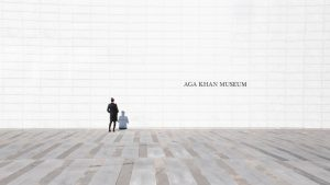A person visiting the Aga Khan museum as one of the things to do in North York