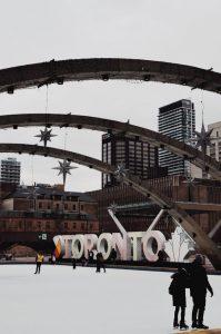 ice skating - Winter fun in Toronto