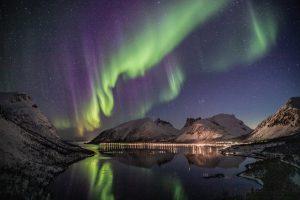 view of Aurora Borealis
