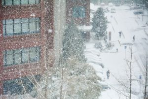 a blizzard - moving to a colder climate