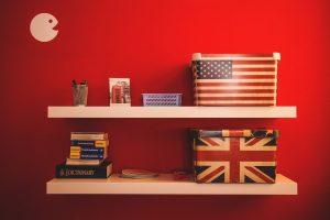 items on the shelf