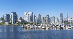 image of Vancouver harbor