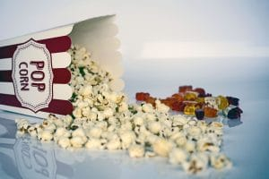 popcorn you can eat while watching movies as one of the Things to do on Christmas Day