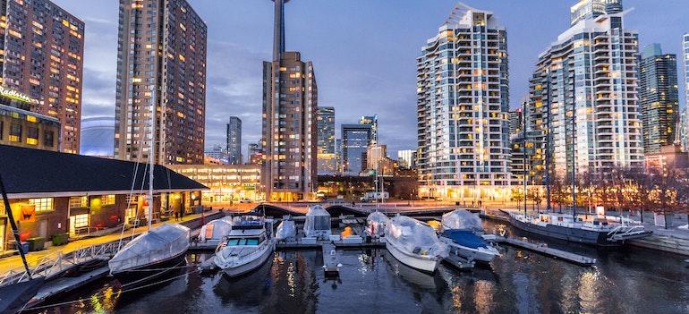 City in Canada