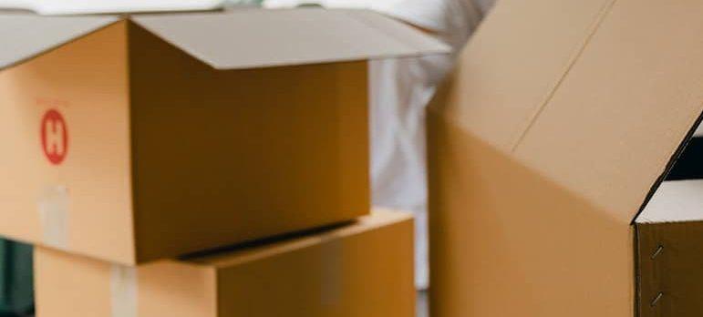 Carton moving boxes