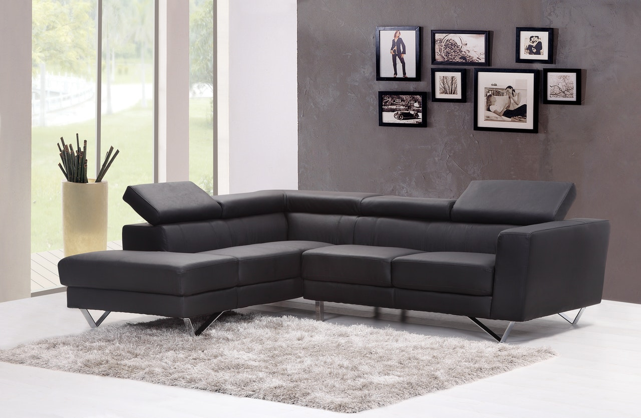 Robust furniture inside a room