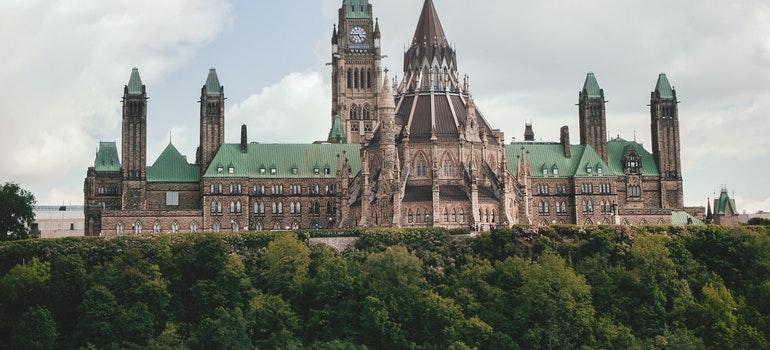 Castle in Ottawa