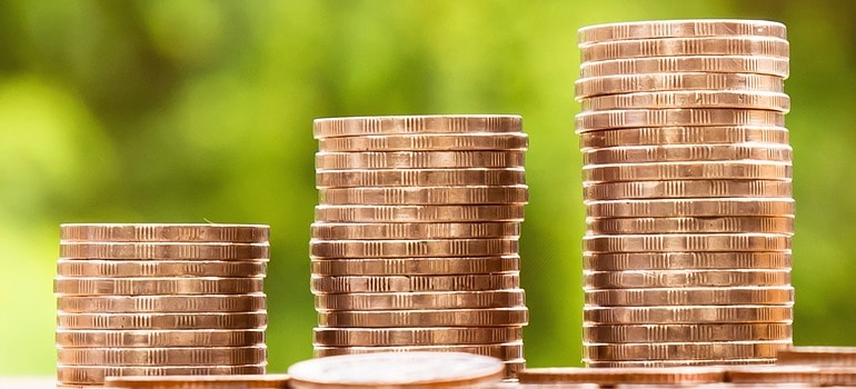 coins you will use next timewhen planning a Last minute large household moves