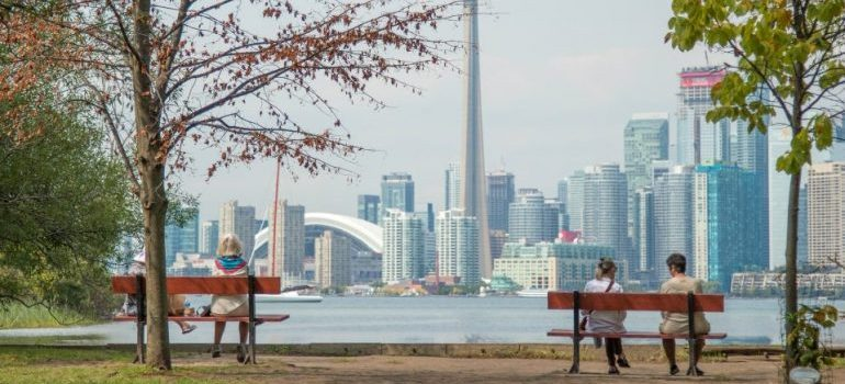 waterfront view in Toronto