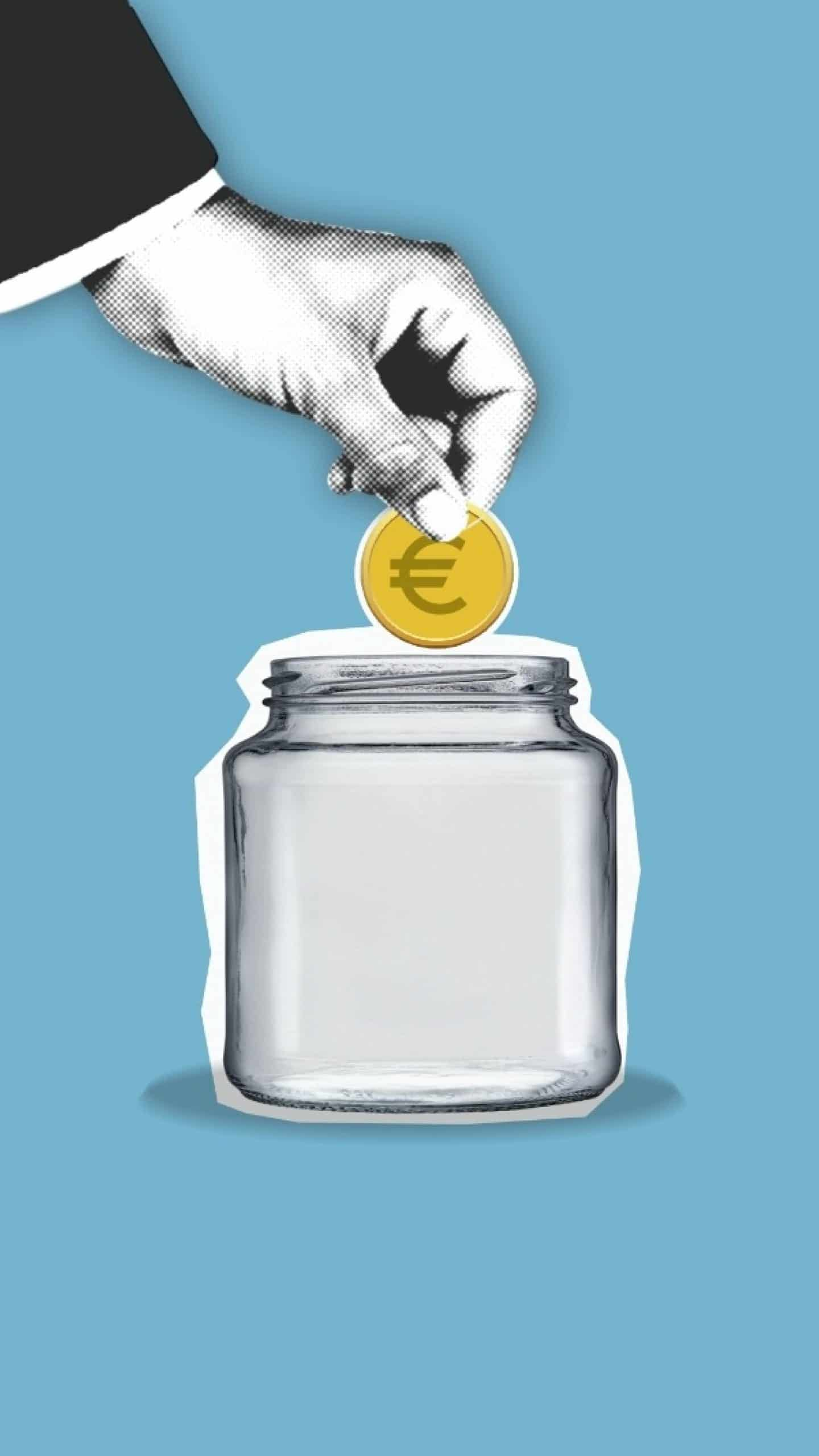 https://www.pexels.com/photo/crop-faceless-person-putting-coin-into-glass-jar-6289171/