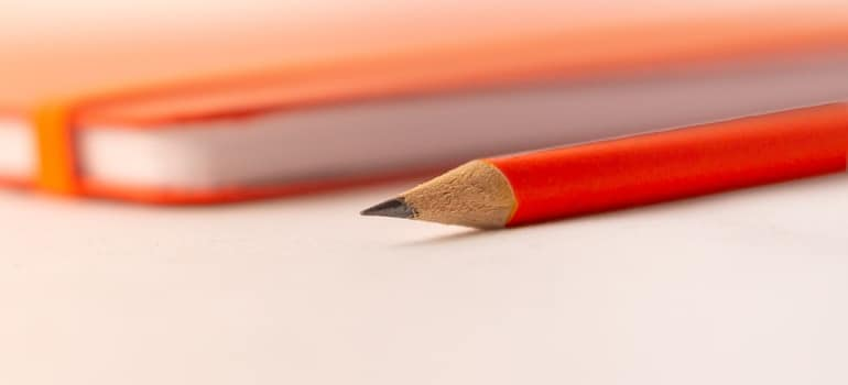 An paper and pen you will use when you want to office move on short notice