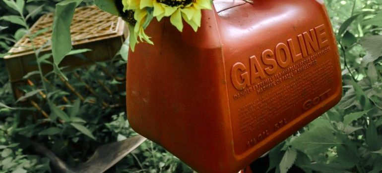 Canister gasoline