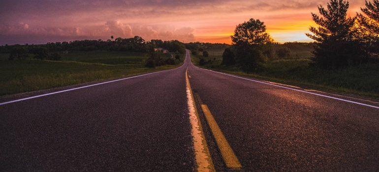 road to Burlington movers