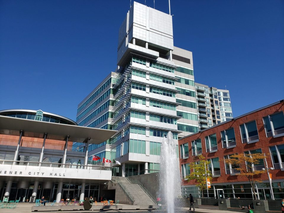 Moving from Brantford to Kitchener to live in front of fountain