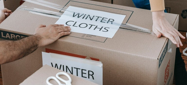packing during the cheapest time of year to move