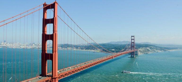 A picture of the San Francisco bridge