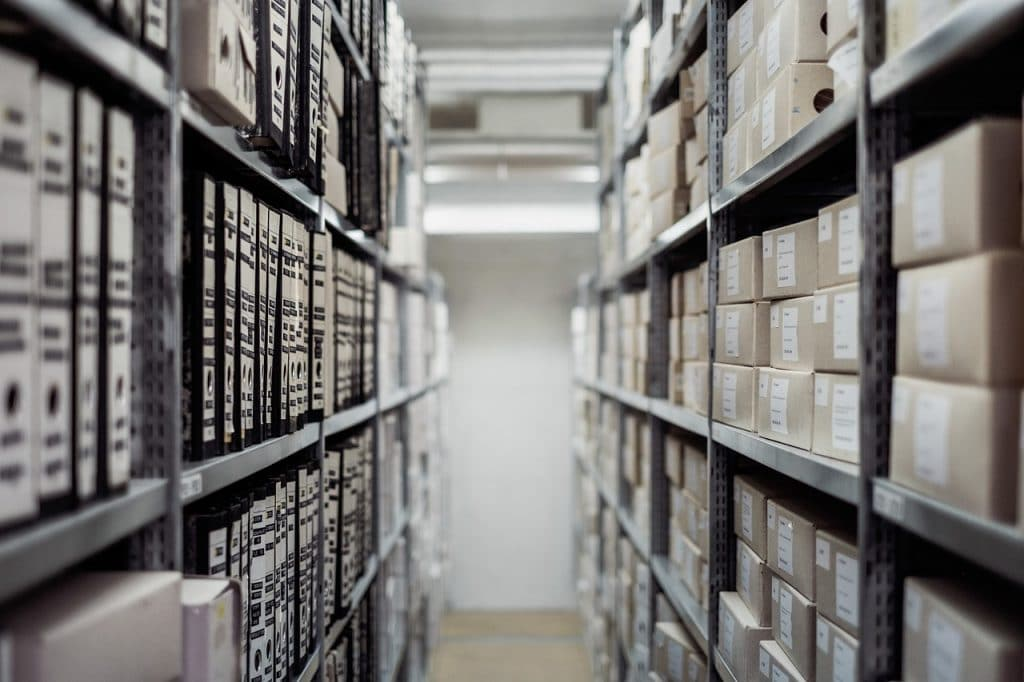 a public archive waiting for commercial movers Toronto to handle it